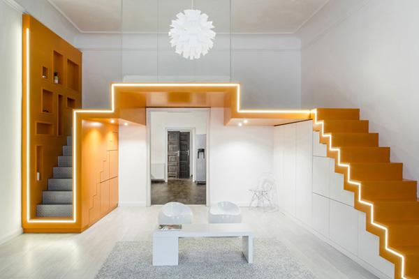 Batlab loft bedroom