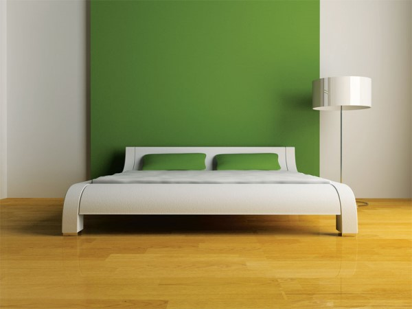 Headboard in colors