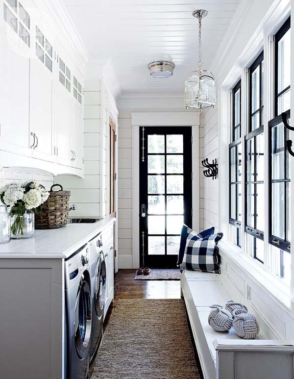 Sun laundry room