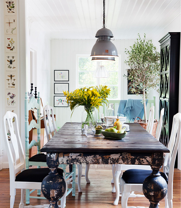Elegant Dining Room Designs With A Twist