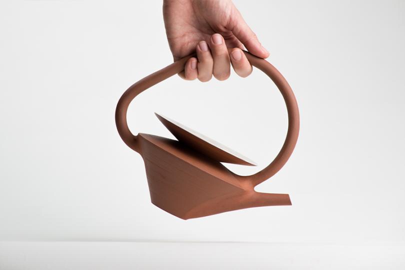 Léa  Nicolas's ceramics teapot