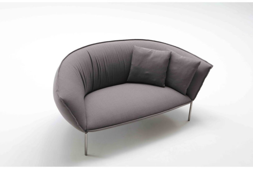 Kick Back And Let This Sofa And Lounge Chair Embrace You Online Home Design Blog
