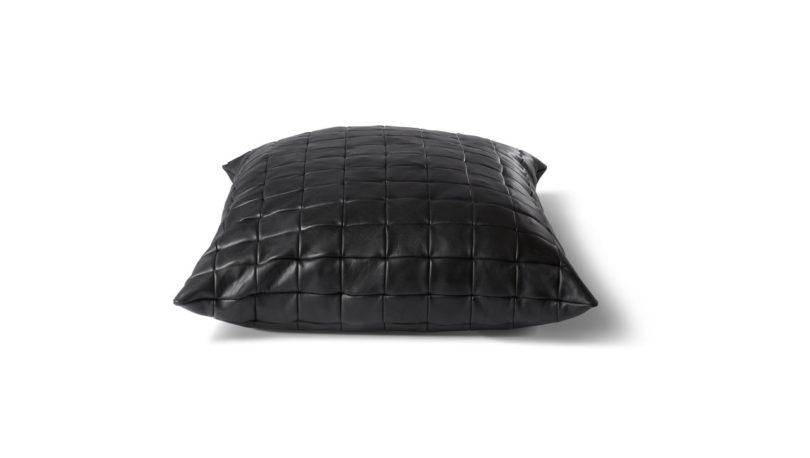 Oversized Leather Floor Pillows from KILLSPENCER – Online Home ...