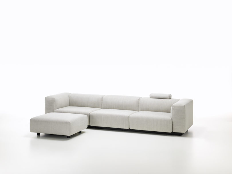 Uniting Carefully Composed Proportions, Great Comfort And A Conscious  Renunciation Of Decorative Details, The Soft Modular Sofa Exemplifies The  ...