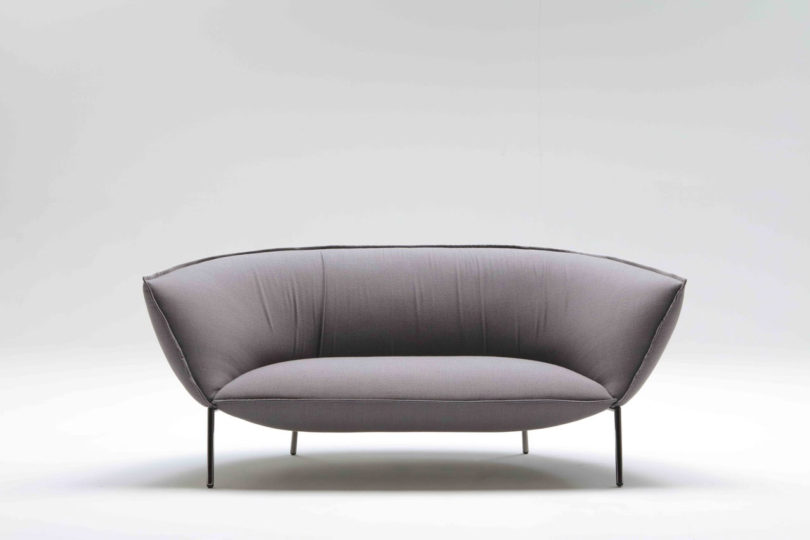 Luca Nichetto Designed The You Sofa And Lounge Chair For Coedition With Idea Of It Evoking A Warm Feeling Much Like Someone Wring Their Arms Around