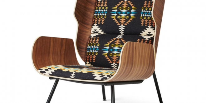 Modern Furniture Company Gus* Modern Has Teamed Up With Textile Brand  Pendleton Woolen Mills On A Limited Edition Trio Of Lounge Chairs.