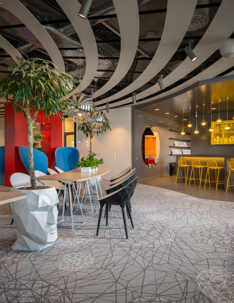 Tech Office In Latvia Featuring Bold