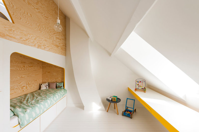 9. A Kidu0027s Room That Will Make You Want To Be A Kid Again In A Rural  Belgian House, Van Staeyen Transformed An Empty, Awkwardly Shaped Room Into  A Bedroom ...