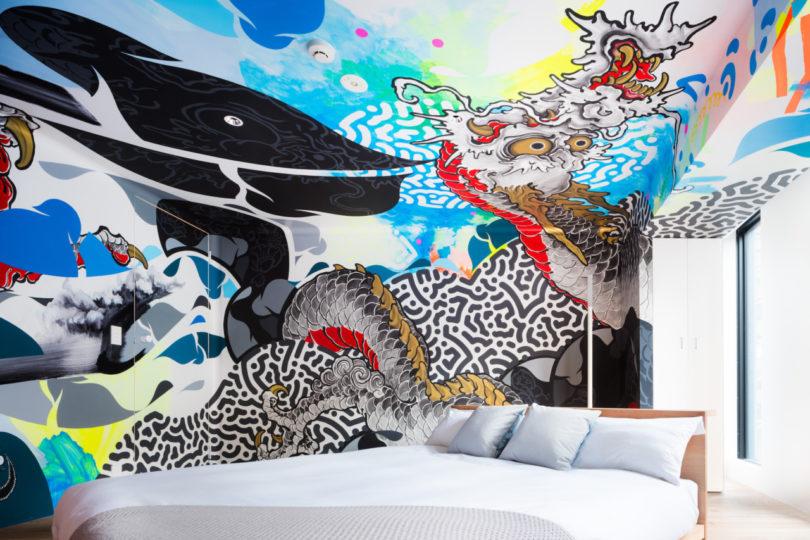 Art Centric BnA STUDIO Akihabara Hotel Features Five Livable Art