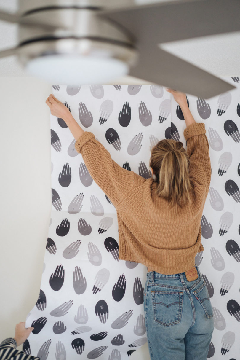 Fresh From The Dairy Society6 Launches Modern Wallpaper