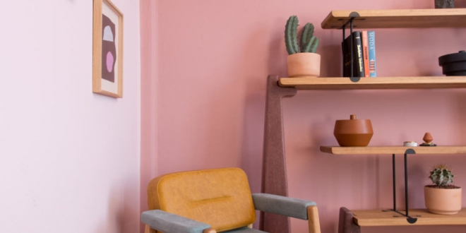 A Stable Bookcase Inspired By Last Years Earthquake In Mexico